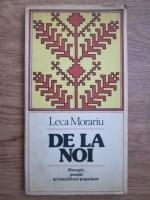 Leca Morariu - De la noi. Povesti, poezii si cimilituri populare