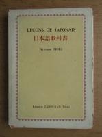 Lecons de japonais