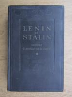 Anticariat: Lenin si Stalin despre constructia de partid (volumul 1)