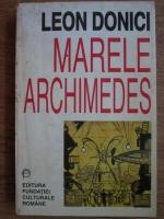 Anticariat: Leon Donici - Marele Archimedes