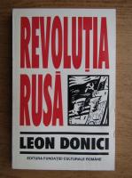 Anticariat: Leon Donici - Revolutia Rusa