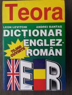 Anticariat: Leon Levitchi, Andrei Bantas - Dictionar ENGLEZ-ROMAN, 70.000 cuvinte (format mare)