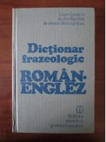 Anticariat: Leon Levitchi - Dictionar frazeologic Roman-Englez