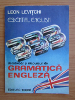 Anticariat: Leon Levitchi - Gramatica engleza