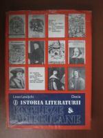 Leon Levitchi - Istoria literaturii engleze si americane (volumul 1)
