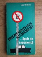 Anticariat: Leon Sarateanu - Din experienta unui automobilist lipsit de experienta