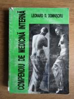 Anticariat: Leonard D. Domnisoru - Compendiu de medicina interna