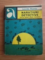 Anticariat: Leonida Neamtu - Naratiuni detective intr-un tempo clasic, monoton