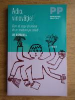 Anticariat: Les Barbanell - Adio, vinovatie