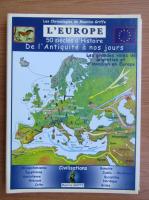 Anticariat: Les chronologies de Maurice Griffe. L'Europe, 50 siecles d'histoire de l'antiquite a nos jours