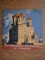 Anticariat: Les monuments historique de Roumanie
