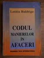Anticariat: Letitia Baldrige - Codul manierelor in afaceri