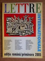 Anticariat: Lettre Internationale, numarul 53, primavara 2005