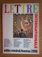Anticariat: Lettre Internationale, numarul 59, toamna 2006