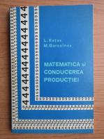 Lev Kutev - Matematica si conducerea productiei