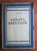 Lev Tolstoi - Sonata Kreutzer