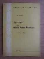 Lidia Bancescu - Scrisori catre Horia Petra-Petrescu, catalog