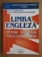 Liliana Rusu - Limba engleza pentru studentii facultatii de drept