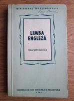 Limba engleza. Manual pentru clasa a IX-a (1956)