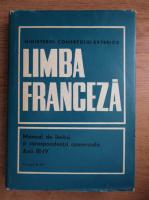 Limba franceza, manual de limba si corespondenta comerciala, anii III-IV (1971)
