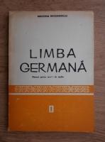Limba germana. Manual pentru anul I de studiu