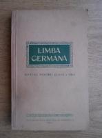 Limba germana. Manual pentru clasa a VIII-a