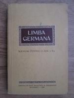 Limba germana, manual pentru clasa a X-a