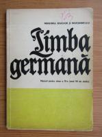 Limba germana. Manual pentru clasa a XI-a (1978)