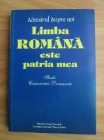 Anticariat: Limba romana este patria mea. Studii, comunicari, documente. Antologie de texte.