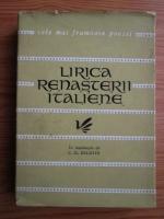 Anticariat: Lirica renasterii italiene (Colectia Cele mai frumoase poezii)