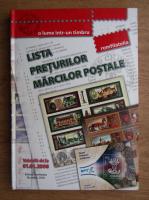 Lista preturilor marcilor postale