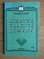Literatura clasica romana clasele IX-XII