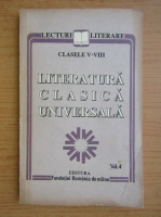 Literatura clasica universala (volumul 4)