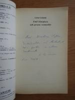 Liviu Grasoiu - Emil Giurgiuca, sub povara vremurilor (cu autograful autorului)