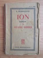 Liviu Rebreanu - Ion (volumul 2, 1921)