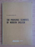 Anticariat: Ljubomir Mihailovic - The phonemic elements of modern english