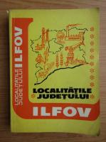 Localitatile Judetului Ilfov