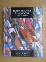 Anticariat: Loren E. Falkenberg - Human resource management in Canada