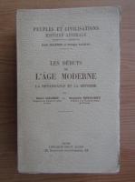 Anticariat: Louis Halphen - Les debuts de l'age moderne (1929)