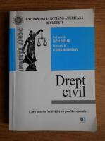 Anticariat: Lucia Giosan, Florea Magureanu - Drept civil. Curs pentru facultatile cu profil economic