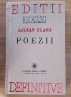 Lucian Blaga - Poezii (Editie anastatica, 2006)