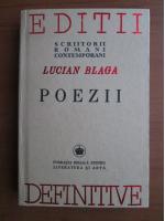 Lucian Blaga - Poezii (reproducere in facsimil a editiei din 1942)