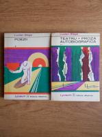 Lucian Blaga - Poezii. Teatru. Proza autobiografica (2 volume)