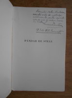 Anticariat: Lucian Dumitrescu - Pandar de stele. Poezii (cu autograful autorului, 1939)