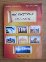 Anticariat: Lucian Irinel Ilinca - Mic dictionar geografic