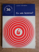 Anticariat: Ludwig Grunberg - Ce este fericirea?