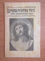 Anticariat: Lumina pentru toti, anul XI, nr. 2-3, februarie-martie, 1942