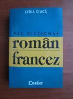 Lydia Ciuca - Mic dictionar roman-francez