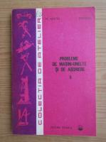 Anticariat: M. Aelenei - Probleme de masini-unelte si de aschiere (volumul 2)