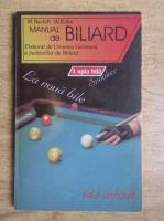 Anticariat: M. Bach - Manual de biliard elaborat de Uniunea Germana a jucatorilor de biliard